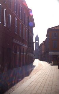 Il centro di Monza